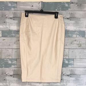 Gianni Bini Vegan leather pencil skirt Sm 0213